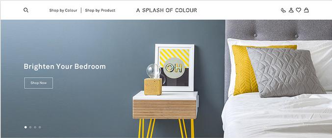 Splash of Color website