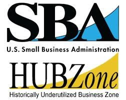 SBA HUB Zone logo